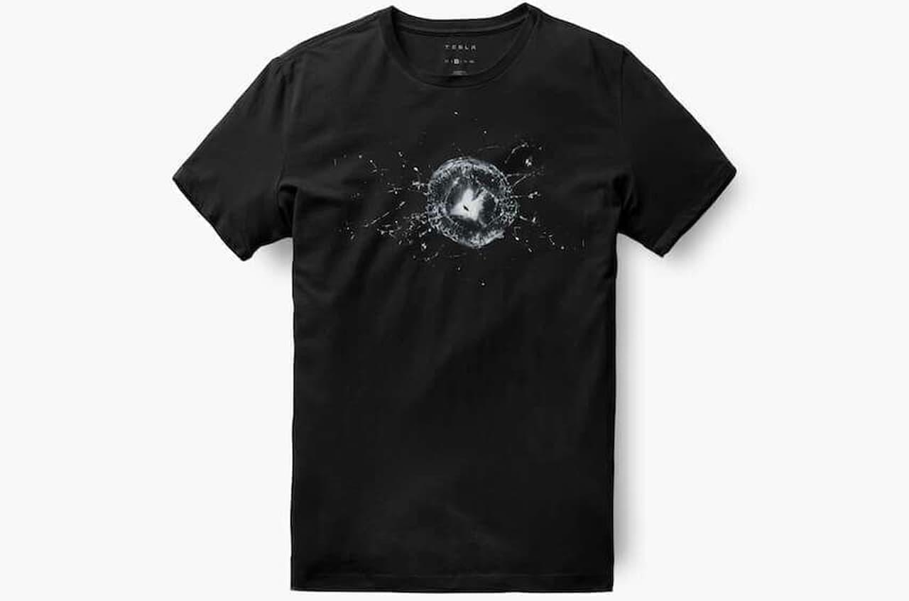 テスラ「男性用サイバートラック防弾Tシャツ」、公式オンラインショップで販売中