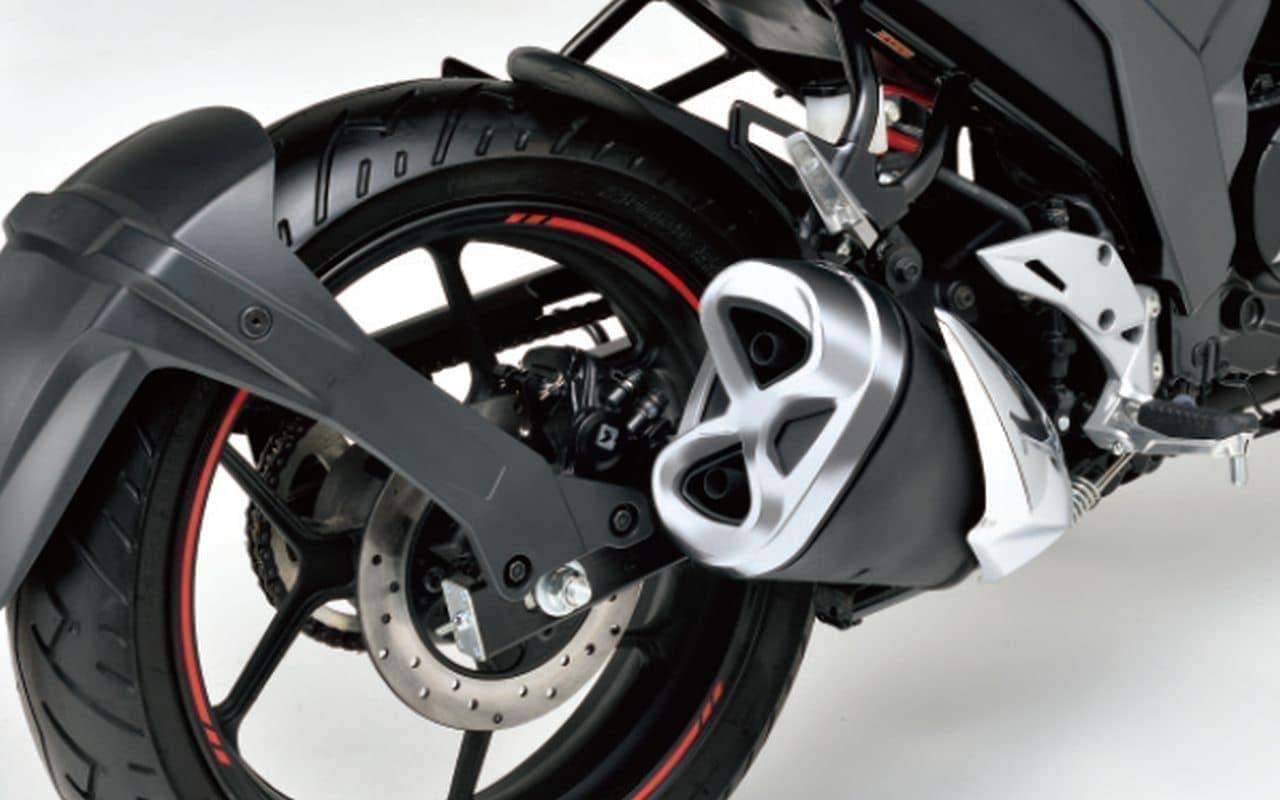 スズキ新型「ジクサー」発売-欧州のデザイントレンドを取り入れたスタイリング