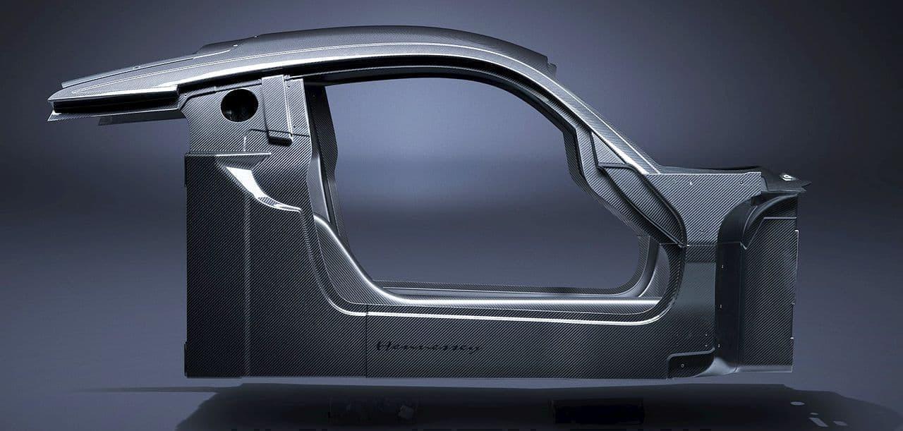 世界最速、時速500キロ超えを目指すハイパーカー ヘネシー「ヴェノムF5」のシャシー公開