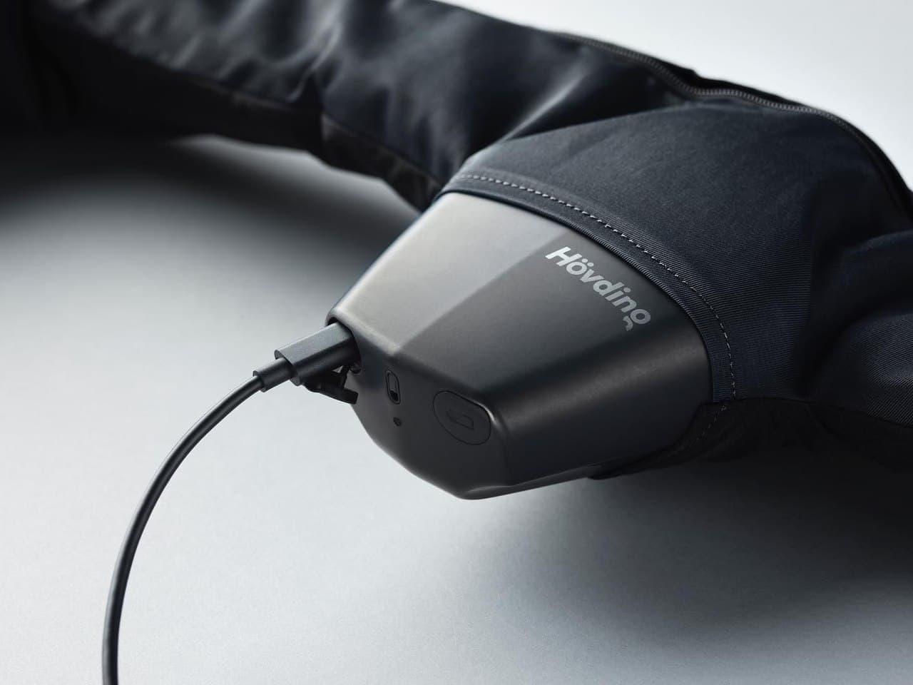 自転車用エアバッグが「HOVDING 3」に進化