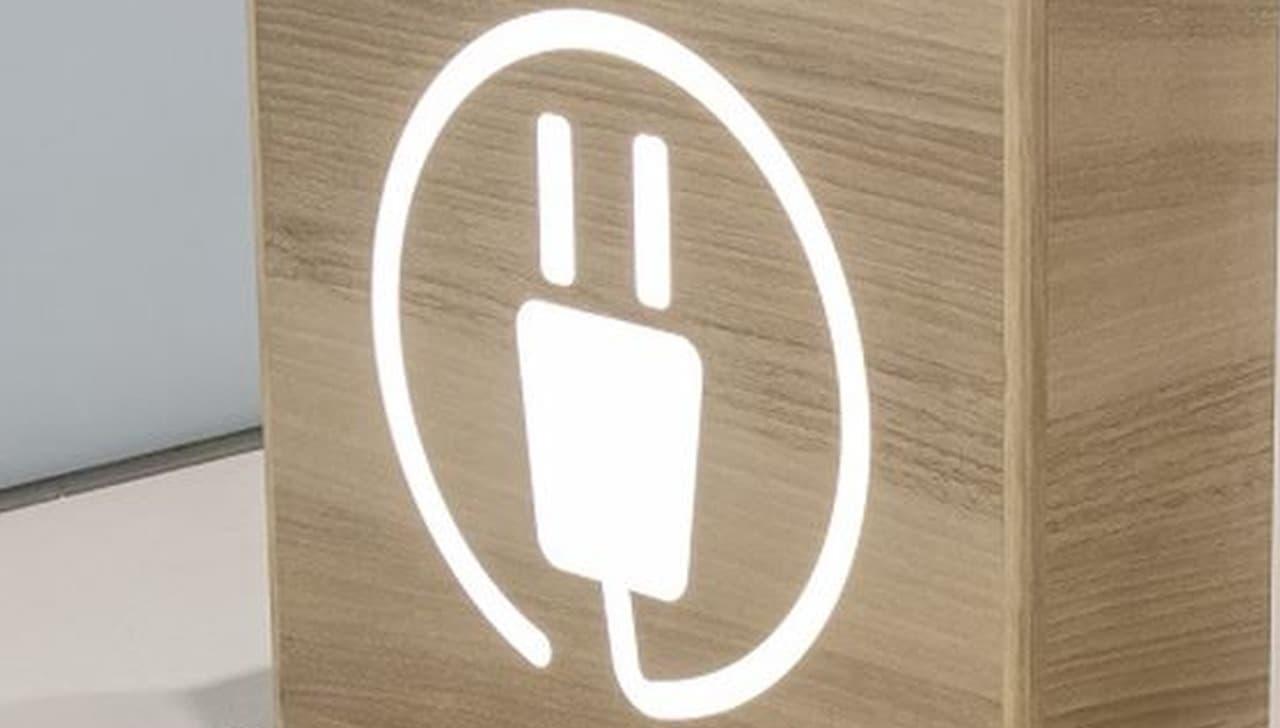 小田急線 新宿駅にスマホを充電できる「チャージングベンチ」