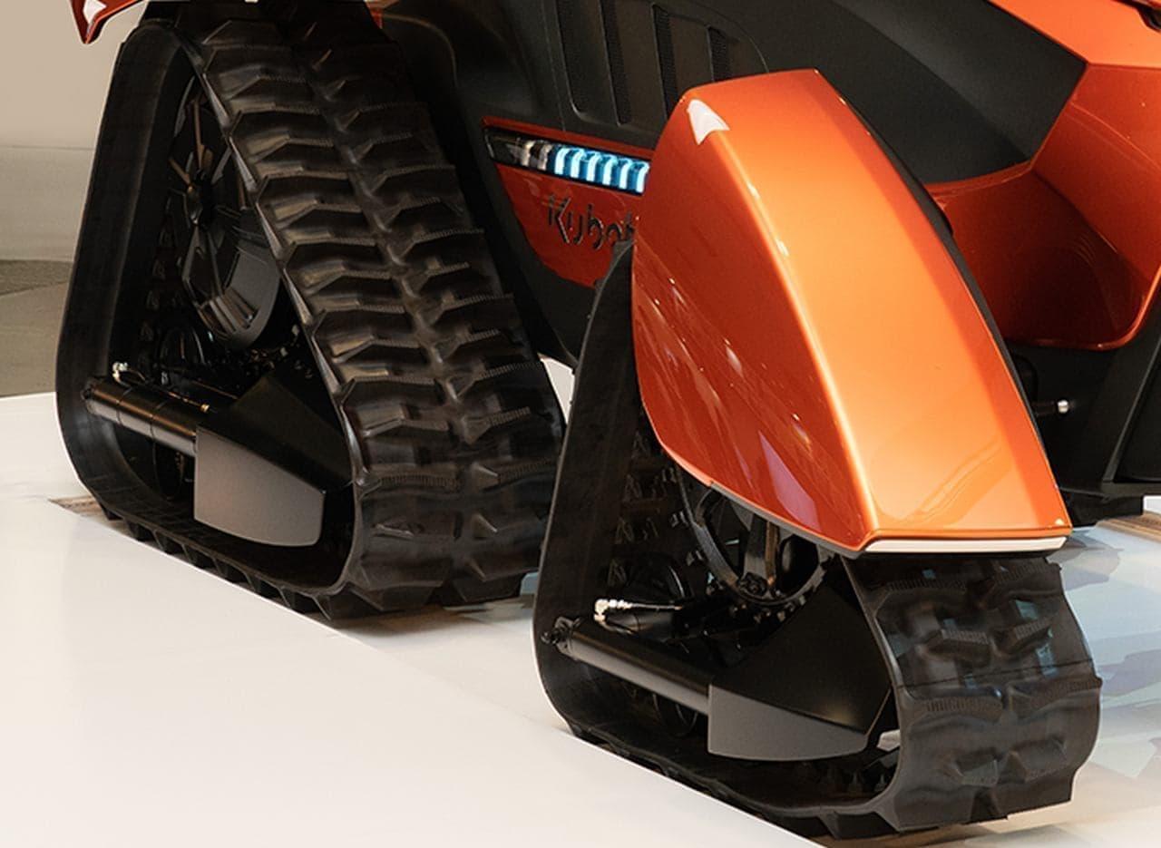クボタが自動運転トラクタ「X tractor(クロス トラクタ)」を公開