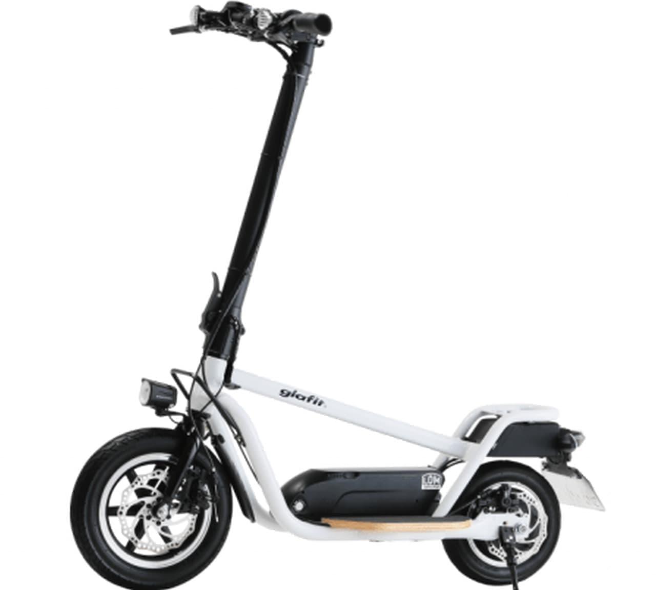 原付免許で乗れる立ち乗り電動バイクglafit「X-SCOOTER LOM」