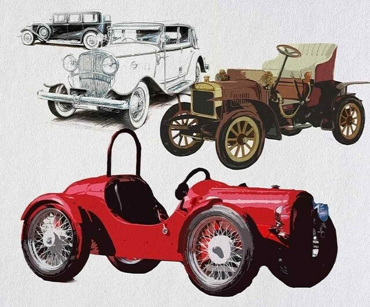 クラシックカーみたいなミニカー「N1930」