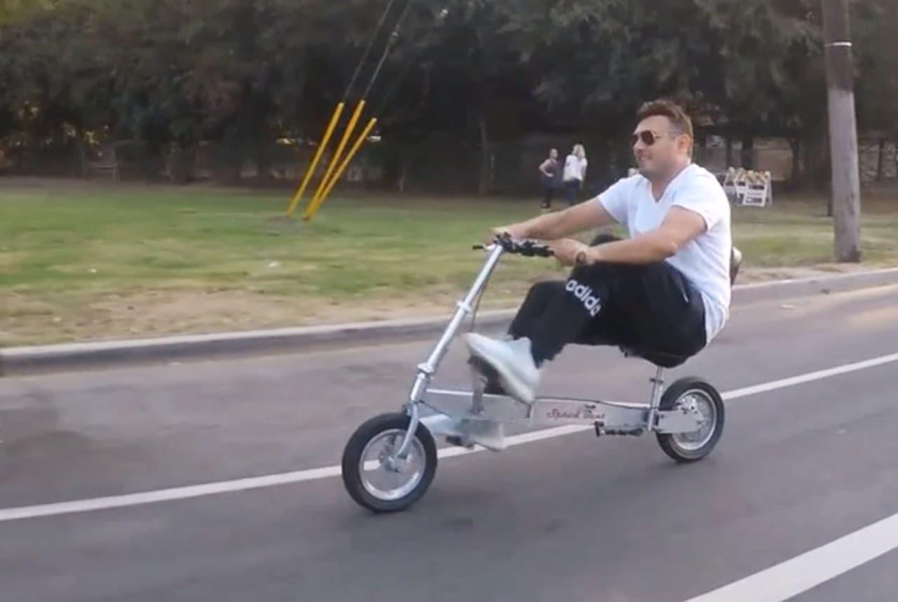 折り畳みりリカンベントバイク「Speed Bent」