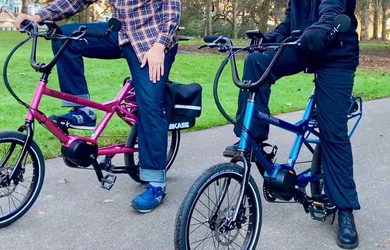 足つき性の高いE-Bike「Roselandia」