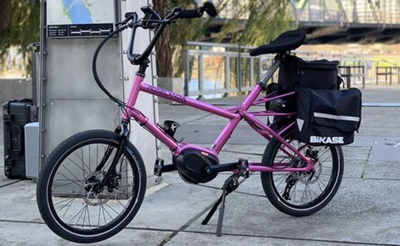リカンベントバイク屋が作ったらミニベロはこうなった - 膝が痛くならず、足つき性の良いE-Bike