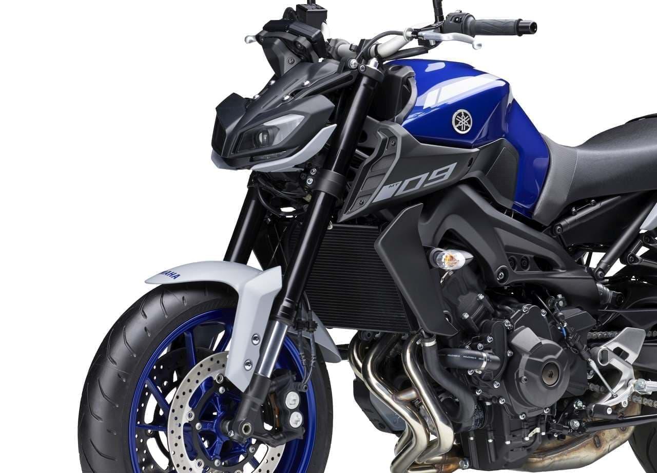 ヤマハ「MT-09 ABS」に、ヤマハレーシングブルーをベースにした新色「ディープパープリッシュブルー」