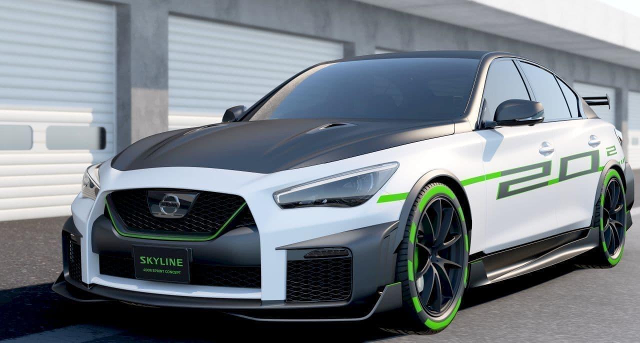 日産「SKYLINE」のコンセプトカー「SPRINT CONCEPT」、大阪オートメッセ2020に登場