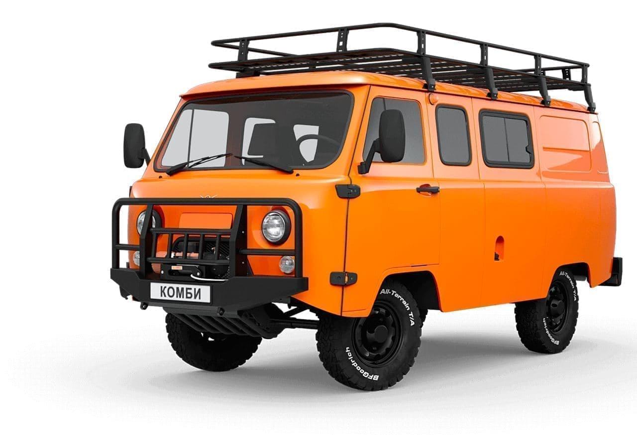 なんか、かわいい-UAZの新型4WD車「SGR Expedition」