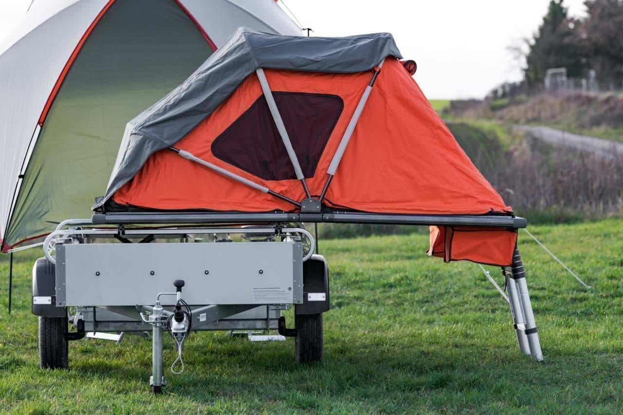 ソロキャンにぴったりなElektrofrosch Camper
