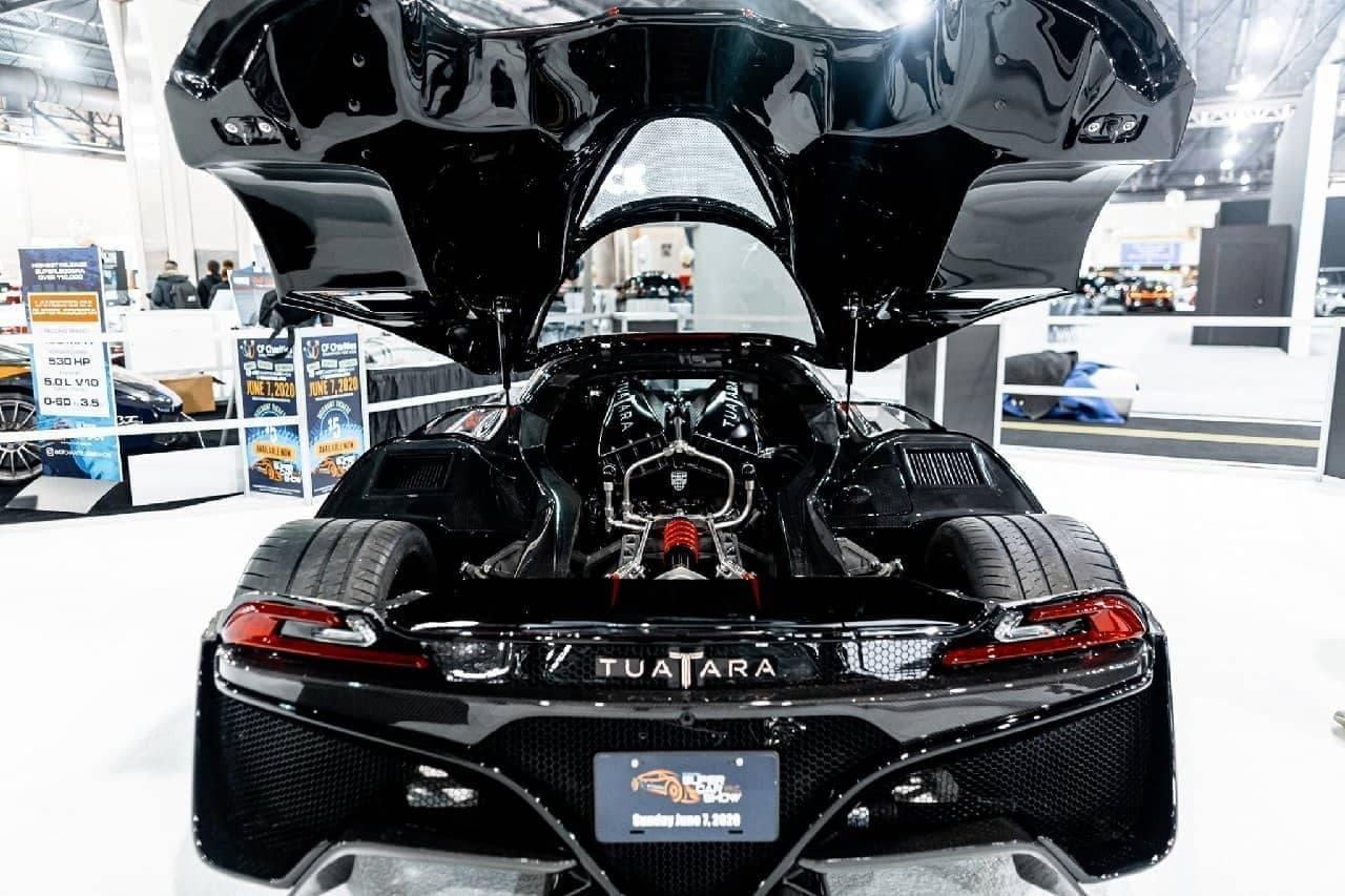 1,750馬力!世界最速を狙うSSCのハイパーカー「Tuatara」、量産1台目をフィラデルフィアオートショーで公開