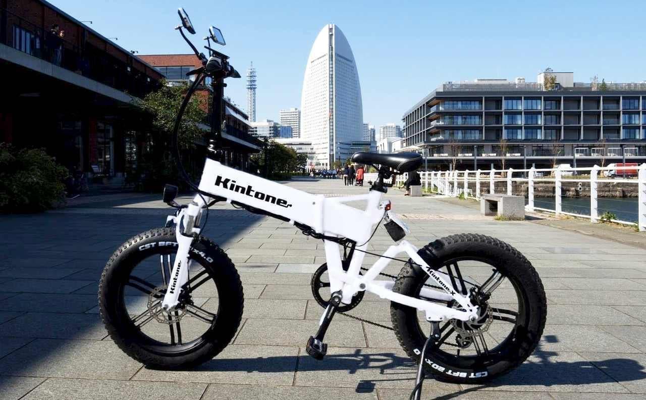 原付免許で公道を走れる電動バイク「Kintone X」、BOOSTERで先行販売開始