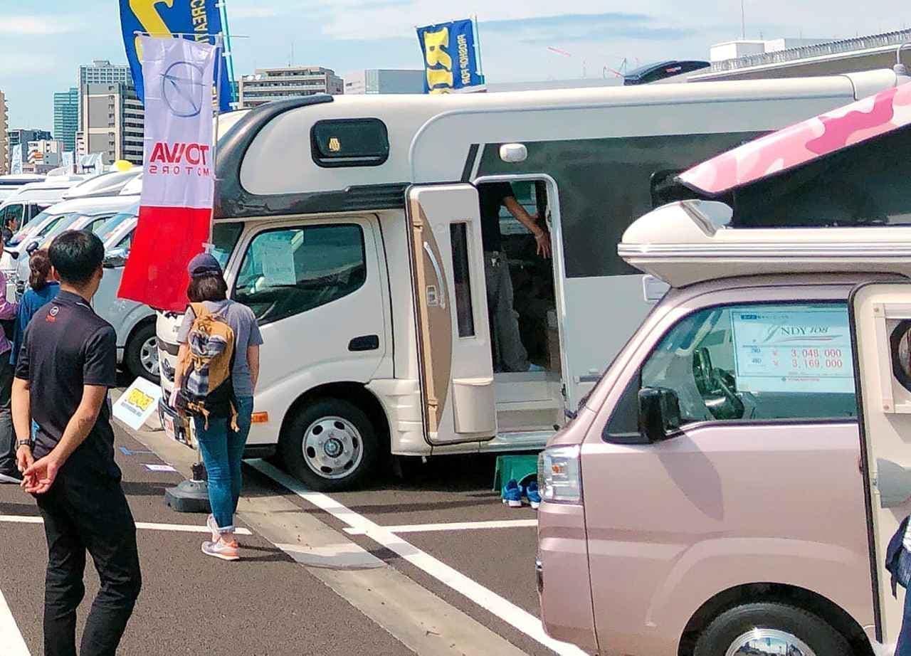「神奈川キャンピングカーフェア」、川崎競馬場d開催