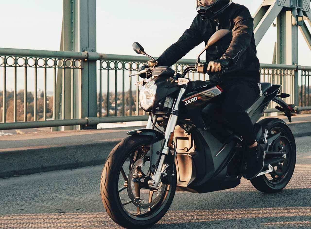 Zero Motorcyclesのフラッグシップネイキッドバイク「SR/F」