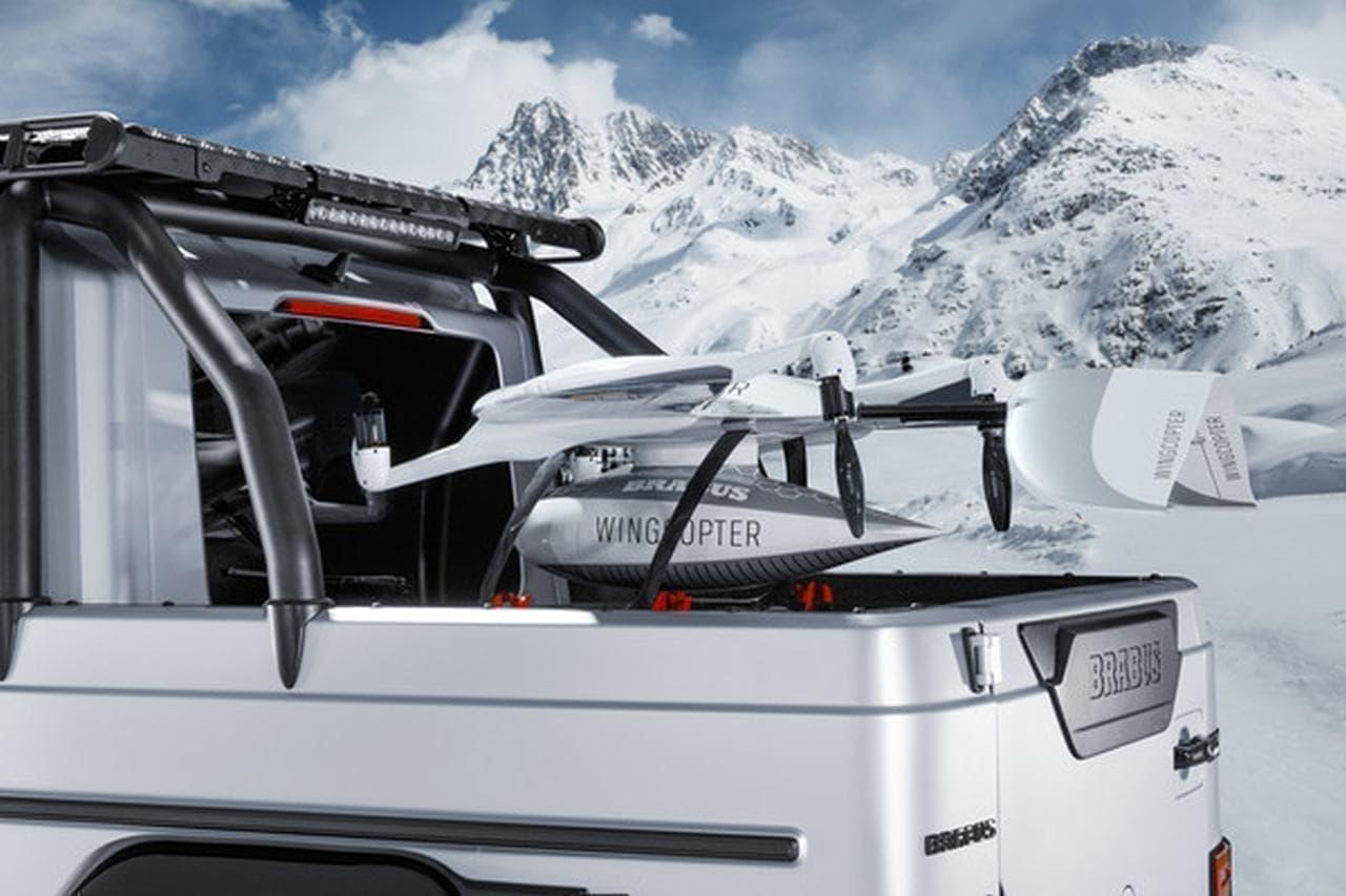 ピックアップの皮を被ったスーパーカー「BRABUS 800 Adventure XLP」