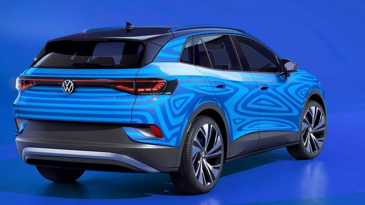 ォルクスワーゲンが電動SUV「ID.4」プロトタイプを公開