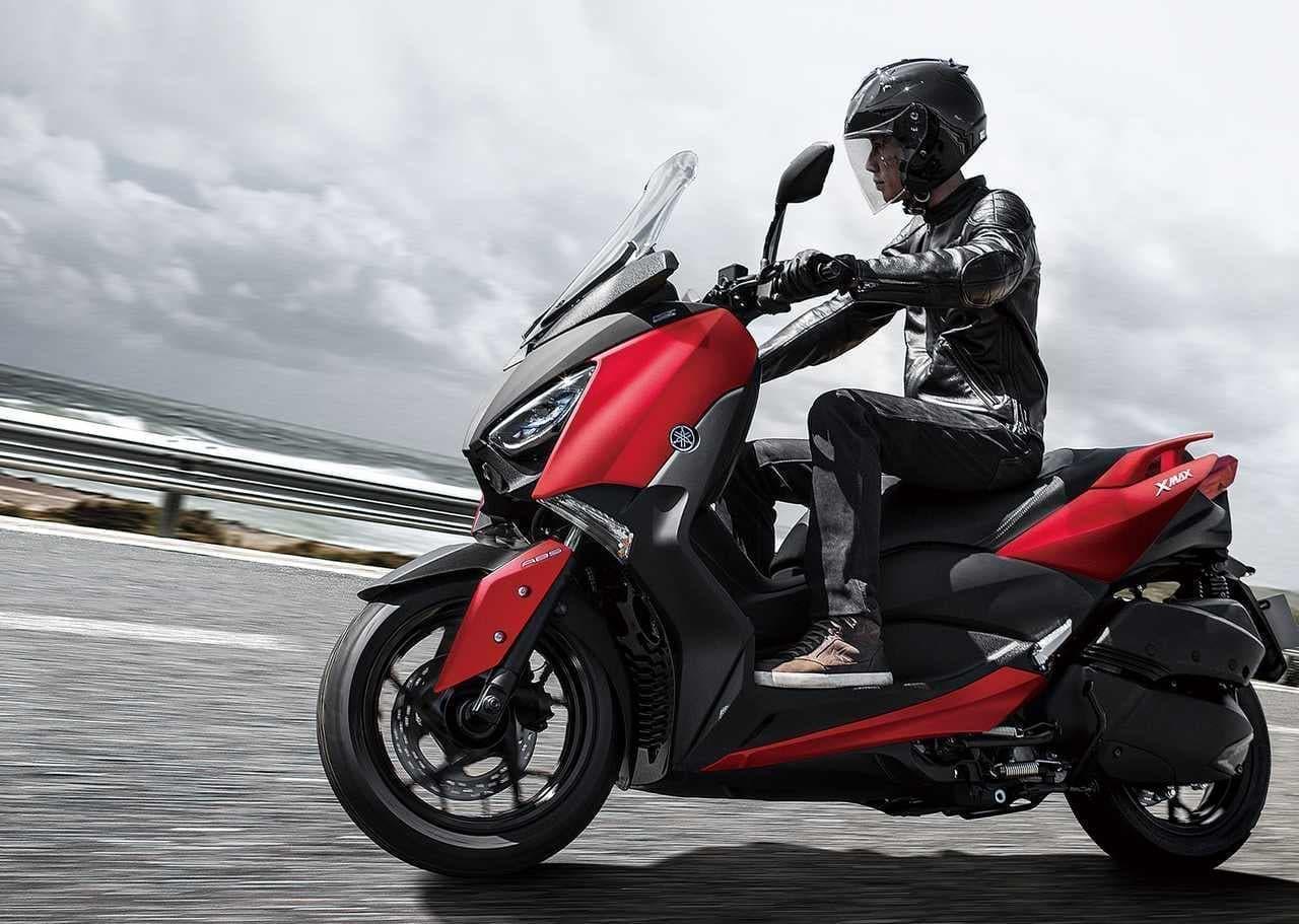 ヤマハ「XMAX ABS」に2020年モデル-新ブランドカラー「マットグリーニッシュグレー」追加