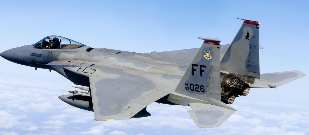 参考画像:F-15戦闘機