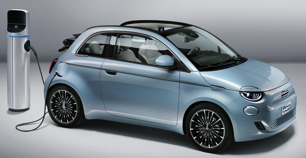 電気自動車になったチンクエチェント、新型FIAT「500」