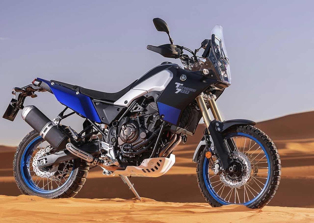 ヤマハ「テネレ700 ABS」発売 ― 新たな4スト ビッグオフロードマシン