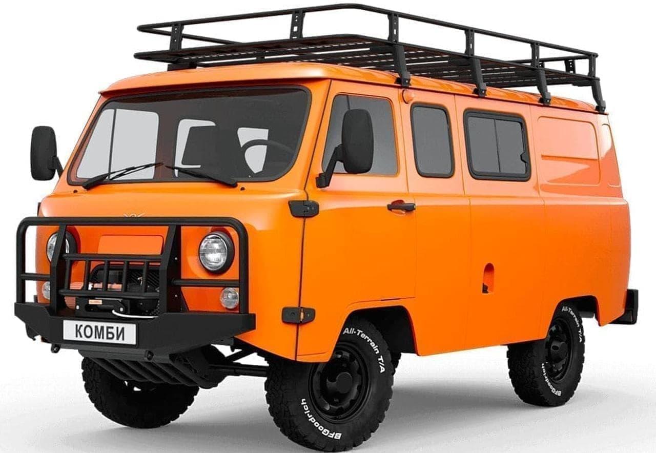 1960年代のデザインを維持しているSGRファミリーの車両がベースの「SGR Expedition」