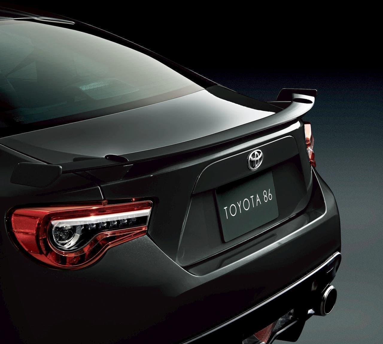 """トヨタ「86」の特別仕様車「GT""""BLACK LIMITED""""」"""