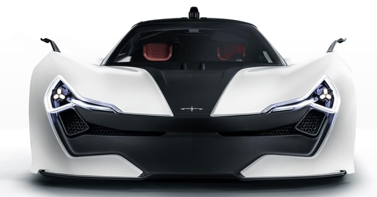 Apexがスーパーカー「AP-0」コンセプトを世界初披露