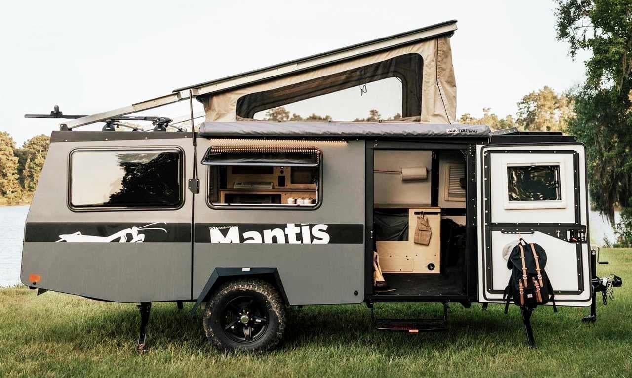 キャンピングトレーラーTaxa Outdoors「Mantis」