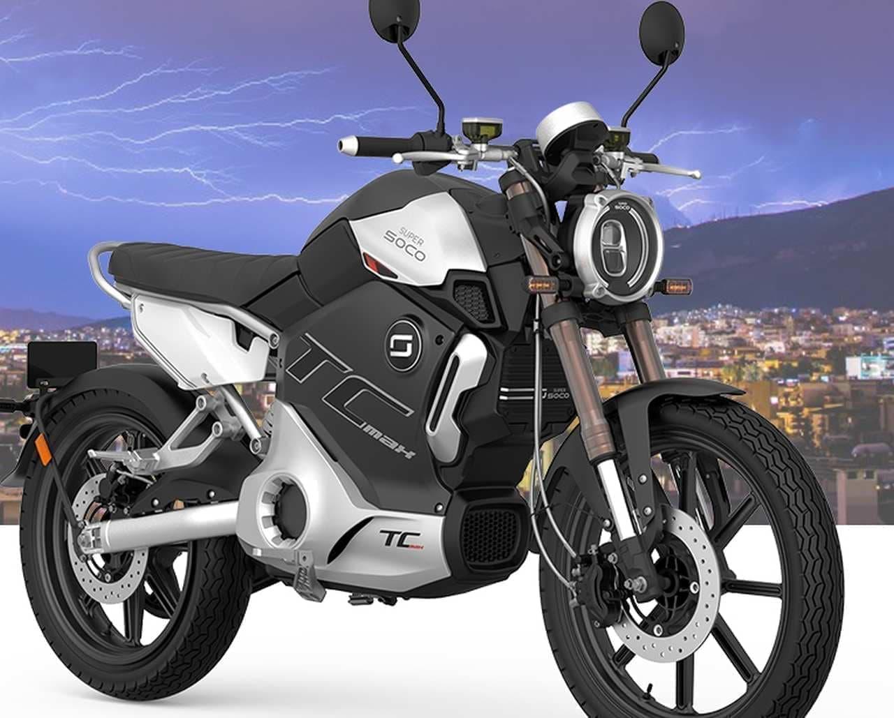 カフェレーサースタイルの電動バイク「TC MAX」 日本発売