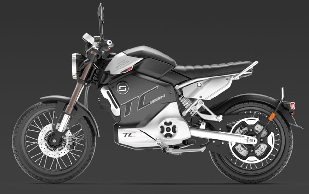 カフェレーサースタイルの電動バイク「TC MAX」