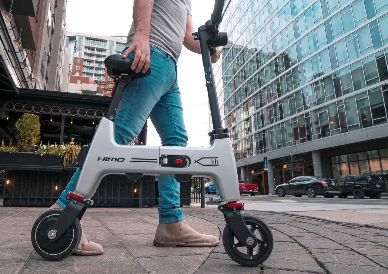 A3サイズの電動バイクHIMO H1 Indiegogoに登場