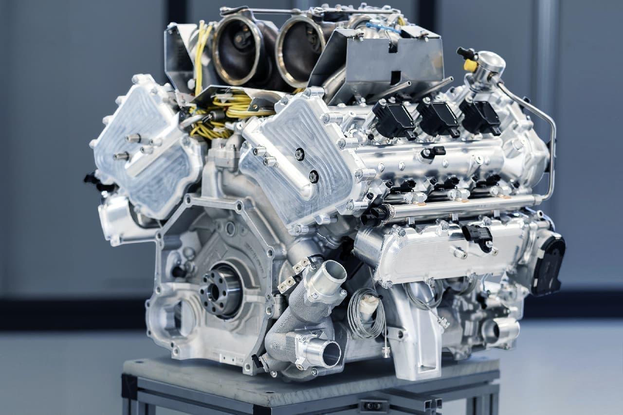 アストンマーティンが「ヴァルハラ」に搭載される3.0L V型6気筒ターボエンジン「TM01」を公開