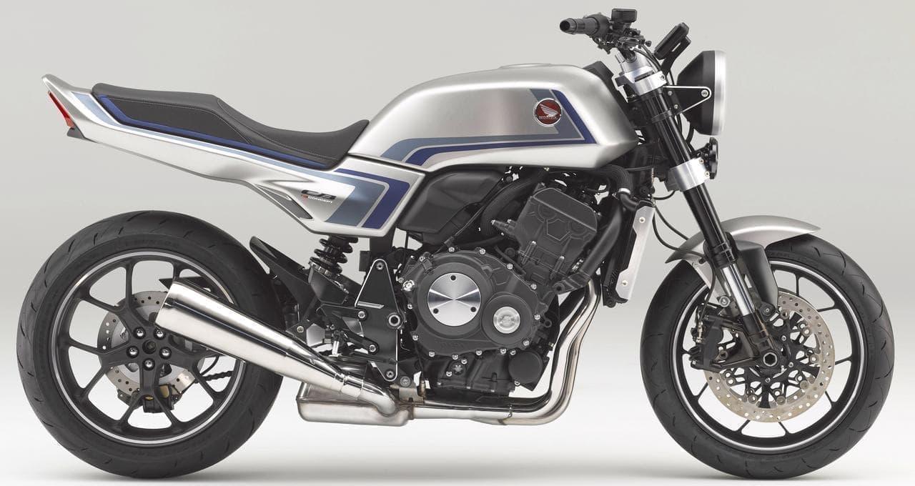 ホンダが「CB750F」に敬意を表したコンセプトモデル「CB-F コンセプト」を世界初公開