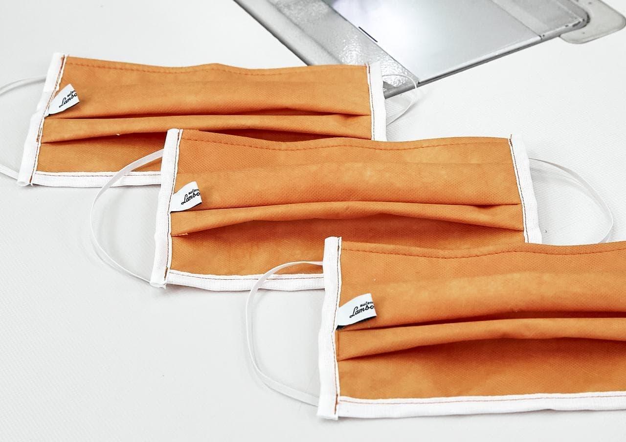 ランボルギーニが、医療用マスクを生産