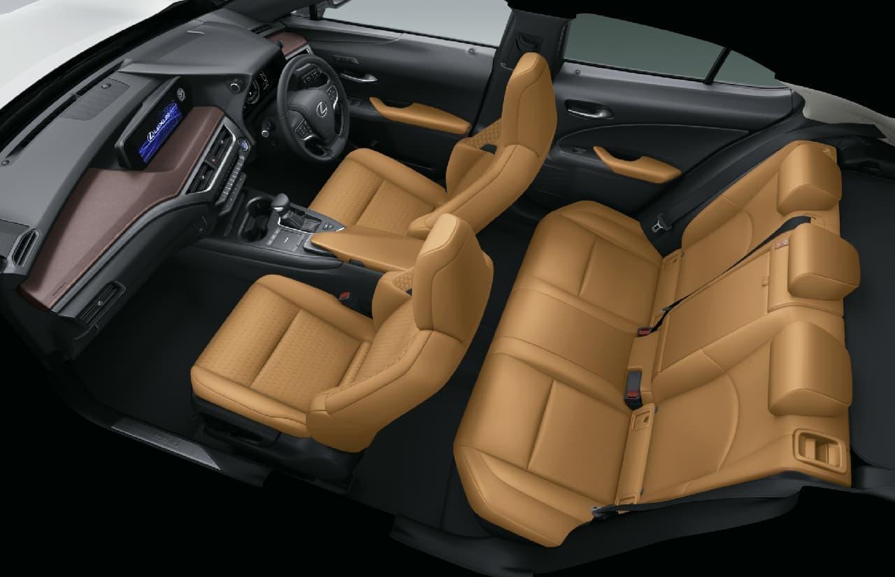 "LEXUS「UX250h」に特別仕様車""Brown Edition"""