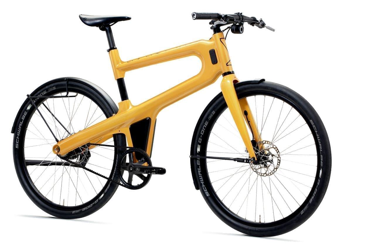 プレス加工で作る自転車Mokumono「Delta」にE-bikeバージョン「Delta S」