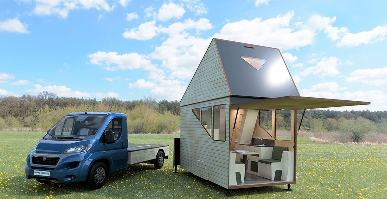 Haaksのキャンピングカー「Opperland」 - クルマを部屋に改造するんじゃない 部屋をクルマに載せるんだ!