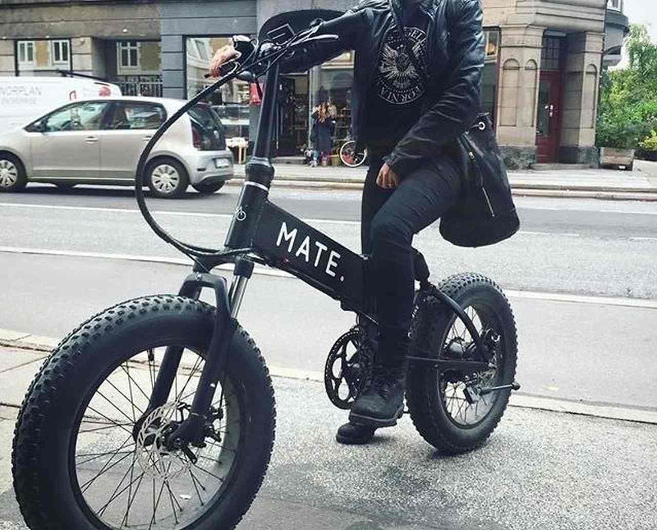 ファットタイヤを履いた「MATE X」がCAMPFIREに登場
