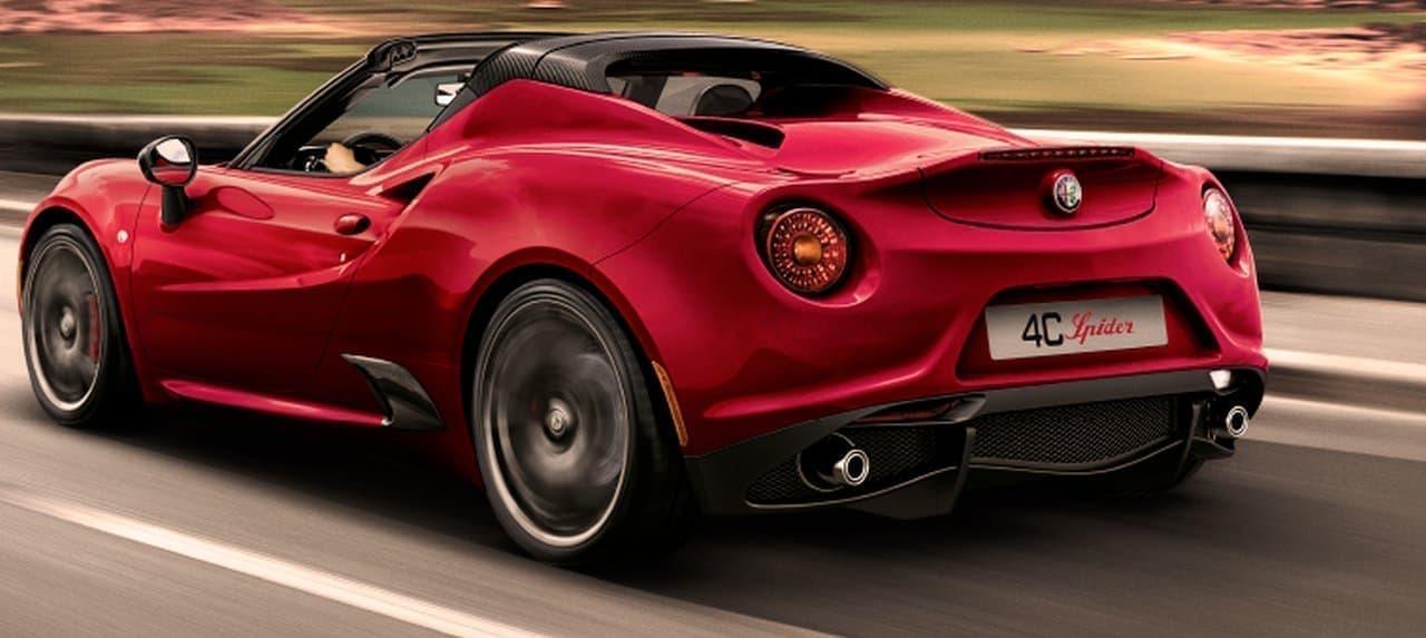 アルファロメオ「4C/4C Spider」が年内で生産終了 ― 限定車「Final Edition」2020年末ごろ発売