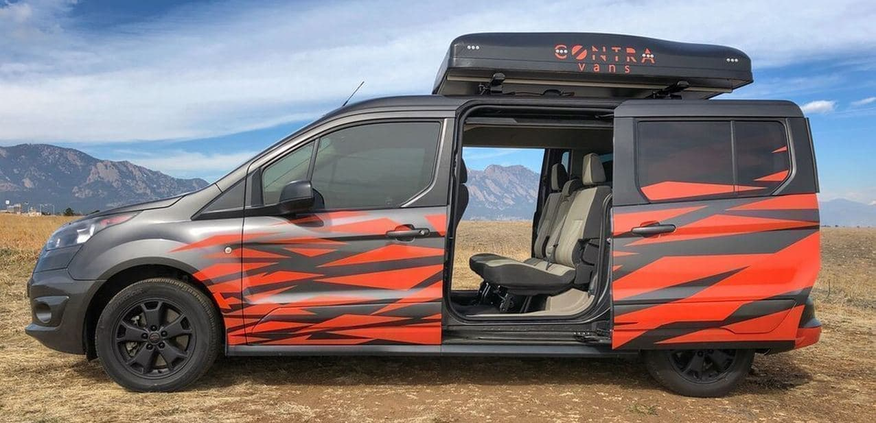 5人乗れる、5人が寝れるキャンピングカー Contravansの「The Starting Five」