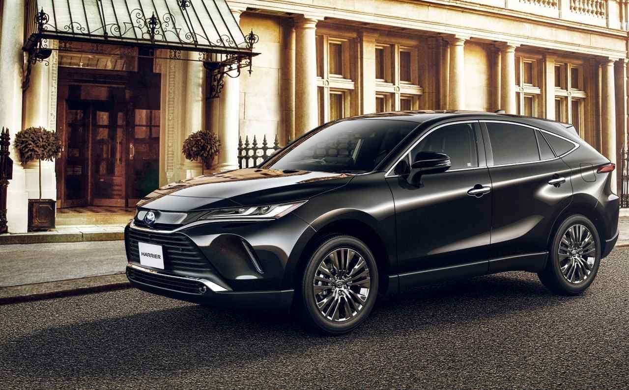 トヨタの都市型SUV 新型「ハリアー」発表