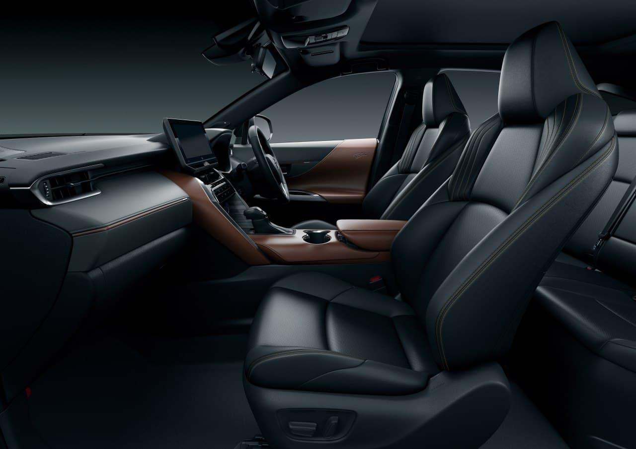 トヨタの都市型SUV 新型「ハリアー」発表 -