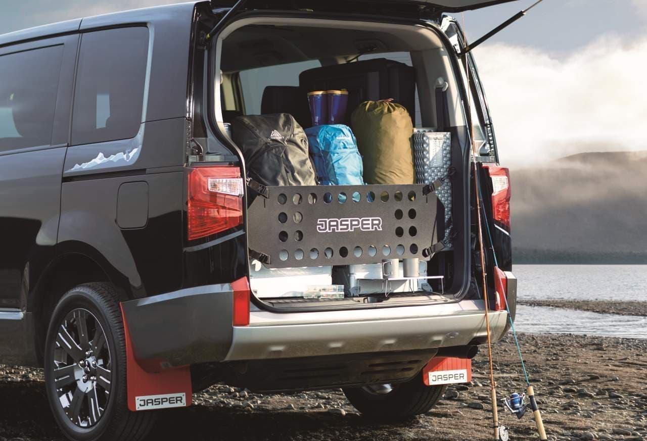 三菱「デリカD:5」に特別仕様車「JASPER」 ― アウトドアをもっと楽しむレジャービークルに進化