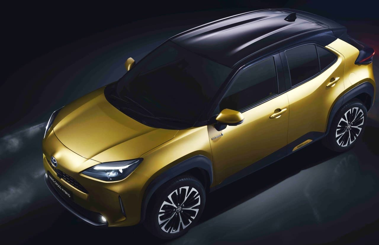 トヨタが都市型SUV「ヤリスクロス」を世界初公開 ― ヤリスにSUVらしいユーティリティ性能を追加