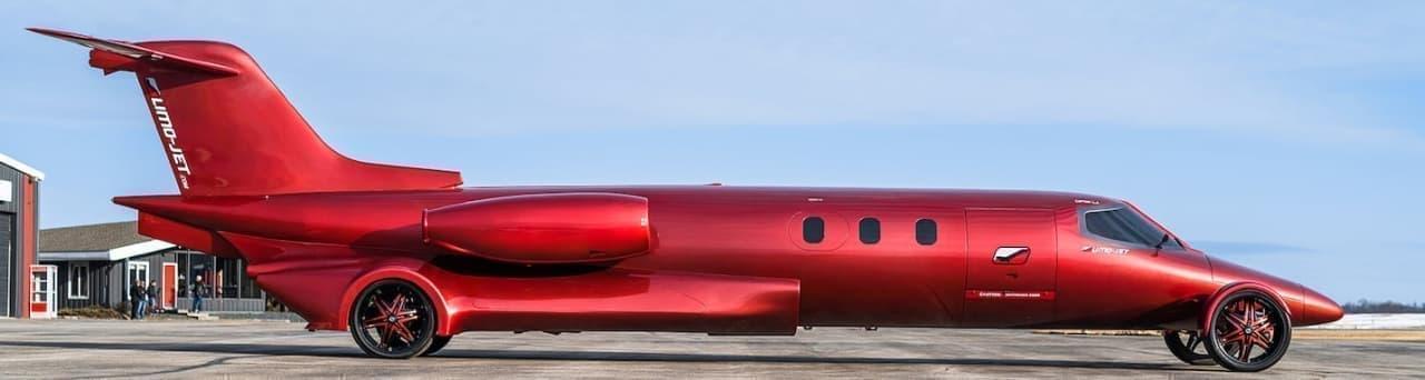 ジェット機?いえこれリムジンなんです ― 「LIMO-JET」がオークションに登場