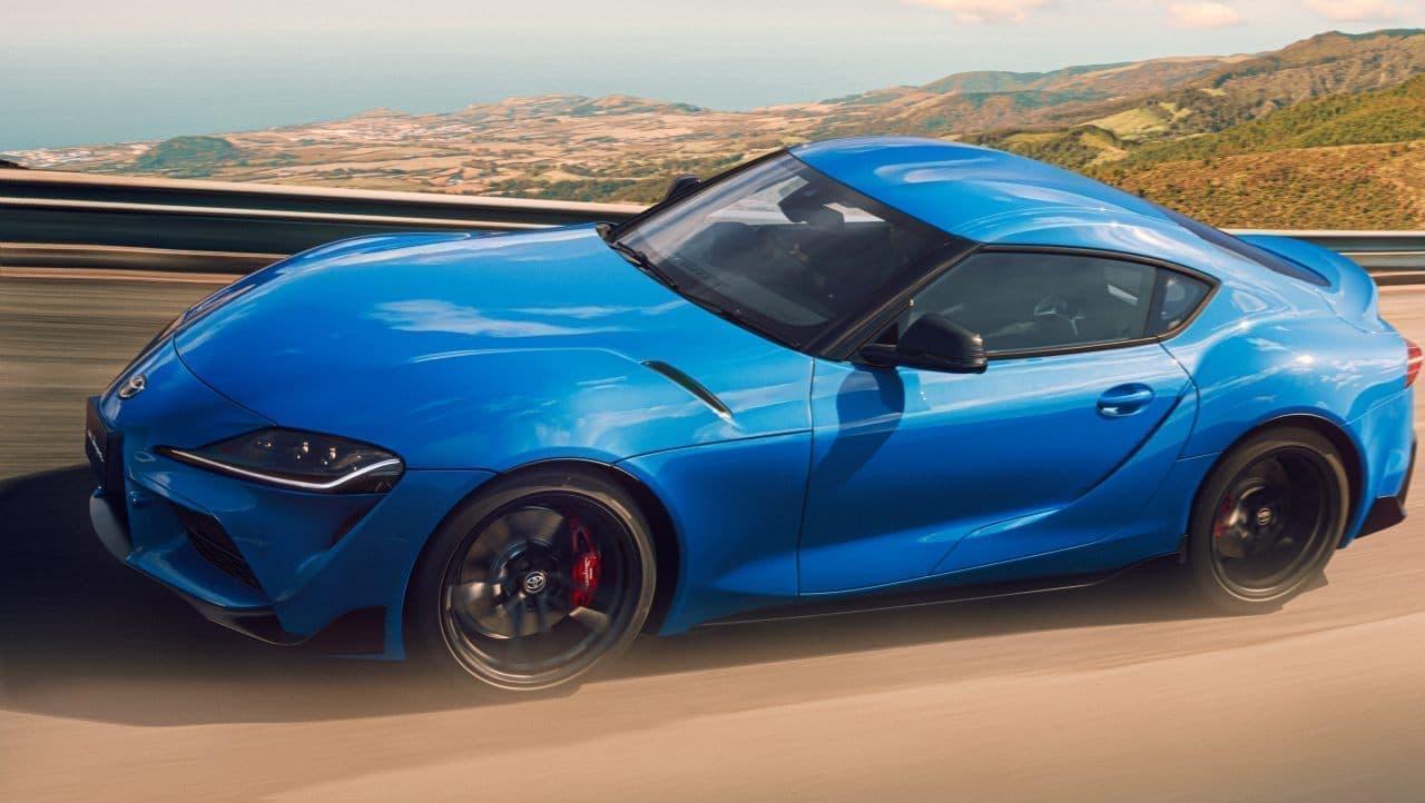 """最高出力を340から387馬力にアップ! トヨタ「スープラ RZ」にエンジン改良型 ― 特別仕様車 RZ""""Horizon blue edition""""も"""