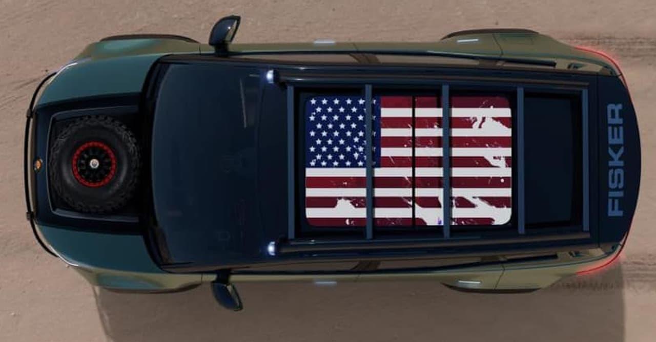 世界一環境に優しい電動SUV フィスカー「OCEAN」
