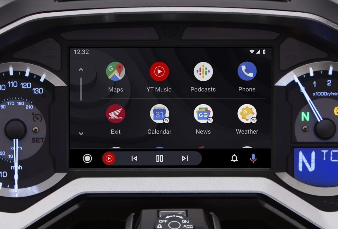 ホンダの「Gold Wing」シリーズに「Android Auto」適用開始