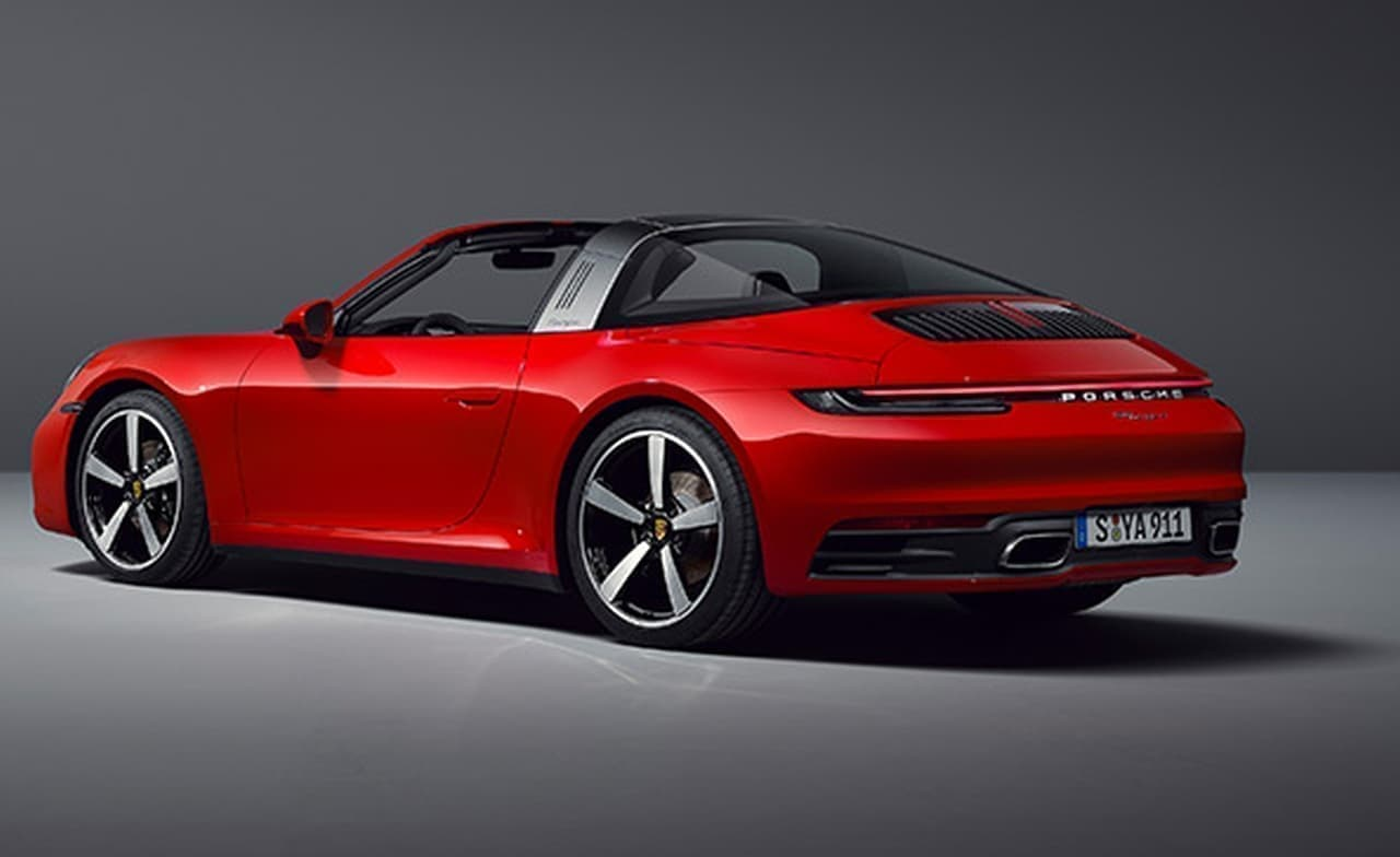 ポルシェ新型911タルガ予約受注開始 - タルガ4Sの価格は2,060万円